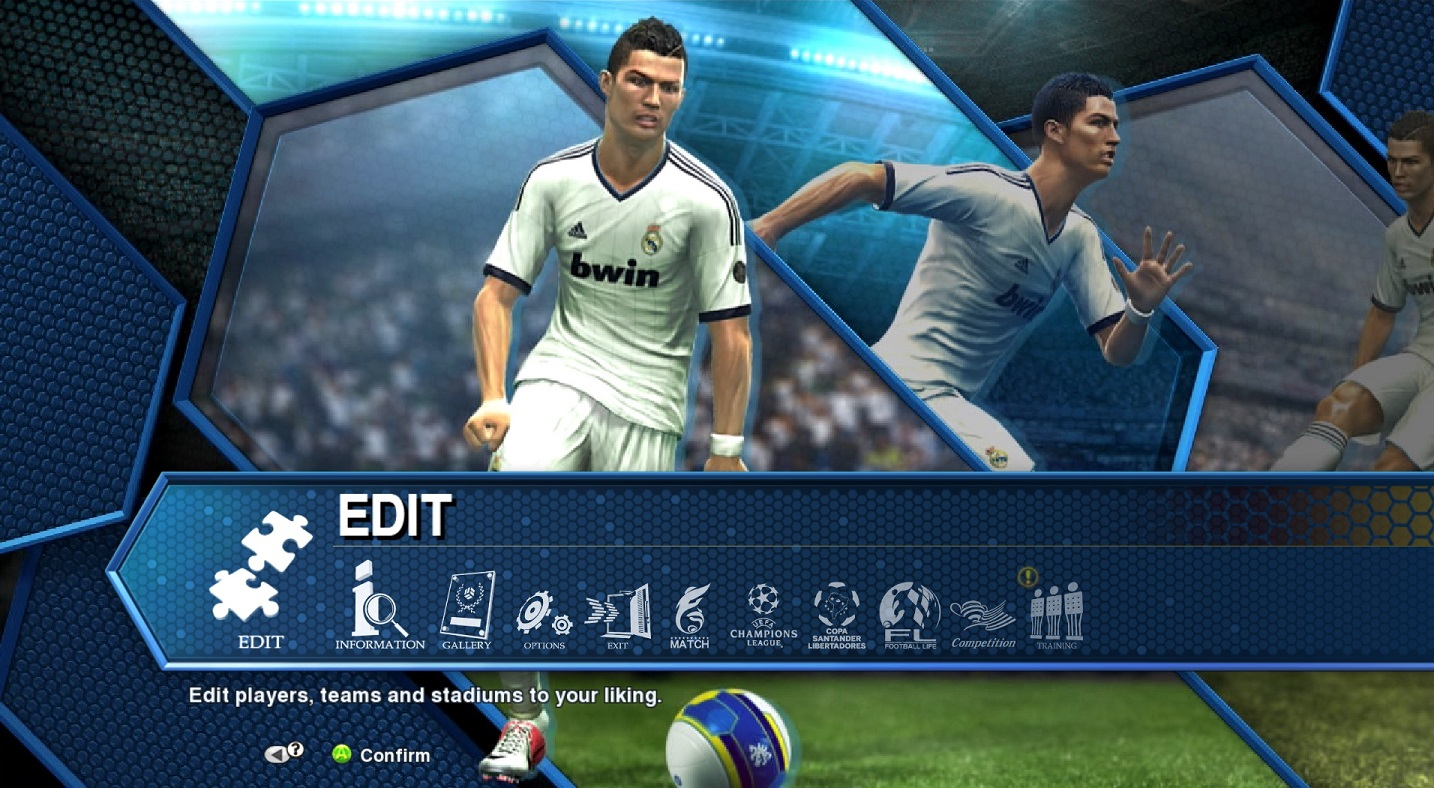How can I create my own team in PES 2013? – Konami Games